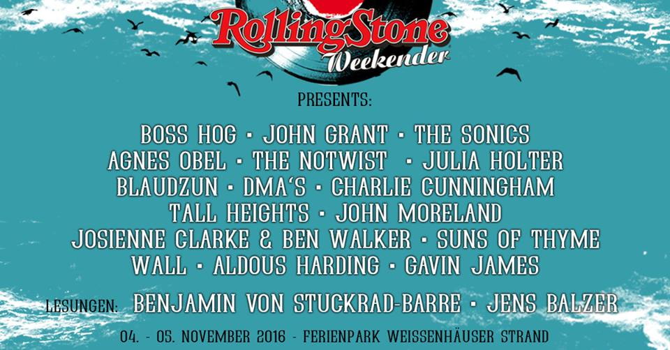 Boss Hog - Rolling Stone Weekender, Weissenhäuser Strand, Germany (4 November 2016)