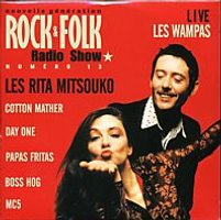 V/A feat. Boss Hog - Rock & Folk Radio Show Numero 13 (CD, FRANCE) - Cover
