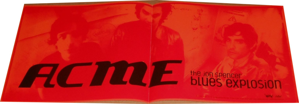 The Jon Spencer Blues Explosion – Acme (POSTER, US)