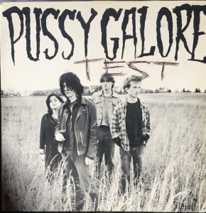 """Pussy Galore - Groovy Hate Fuck EP [Test Pressing] (12"""", US) - Cover"""