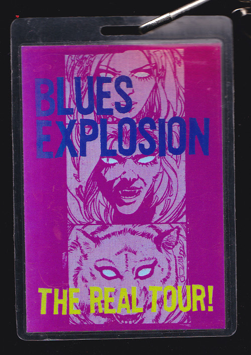 The Jon Spencer Blues Explosion - Plastic Fang: April / May Tour Dates (LAMINATE, US) - Front