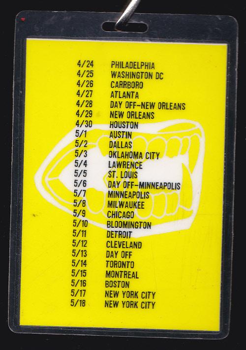 The Jon Spencer Blues Explosion - Plastic Fang: April / May Tour Dates (LAMINATE, US) - Back