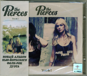 The Pierces - You & I (CD, RUSSIA)