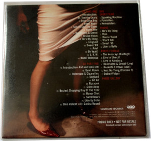 V/A feat. Crunt - The Best of Babes in Toyland and Kat Bjelland [Promo] (CD, US) - Rear