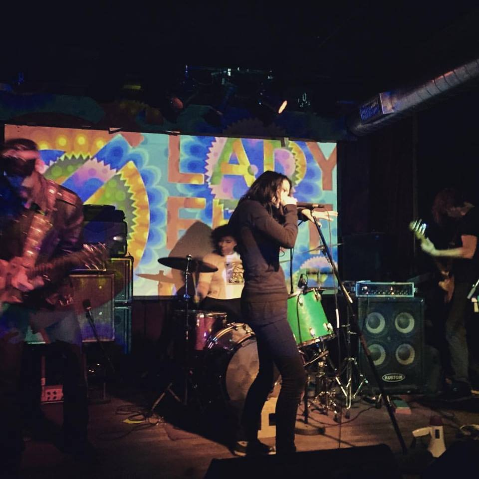 S-E-R-V-I-C-E – Ladyfest, Northside Tavern, Cincinnati, OH, US (14 October 2016)