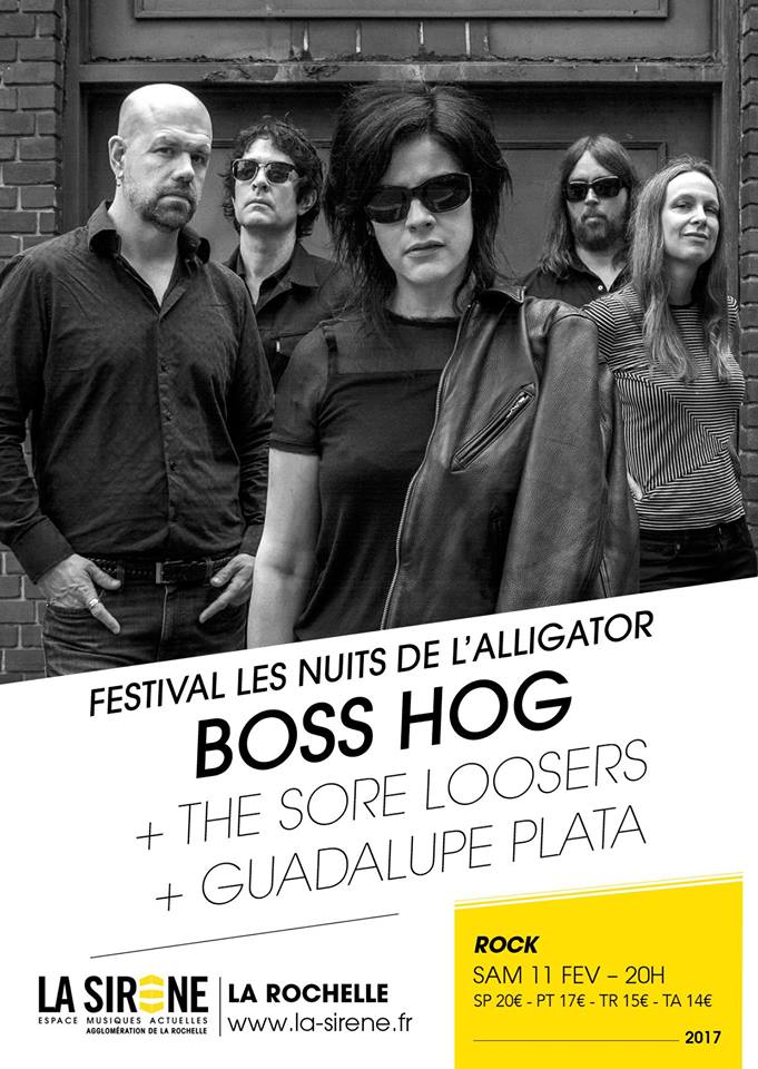 Boss Hog – La Sirène, La Rochelle, France (11 February 2017)