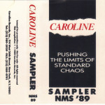 V/A feat. Pussy Galore - Pushing The Limits Of Standard Chaos - Sampler NMS '89 (CASSETTE, US)