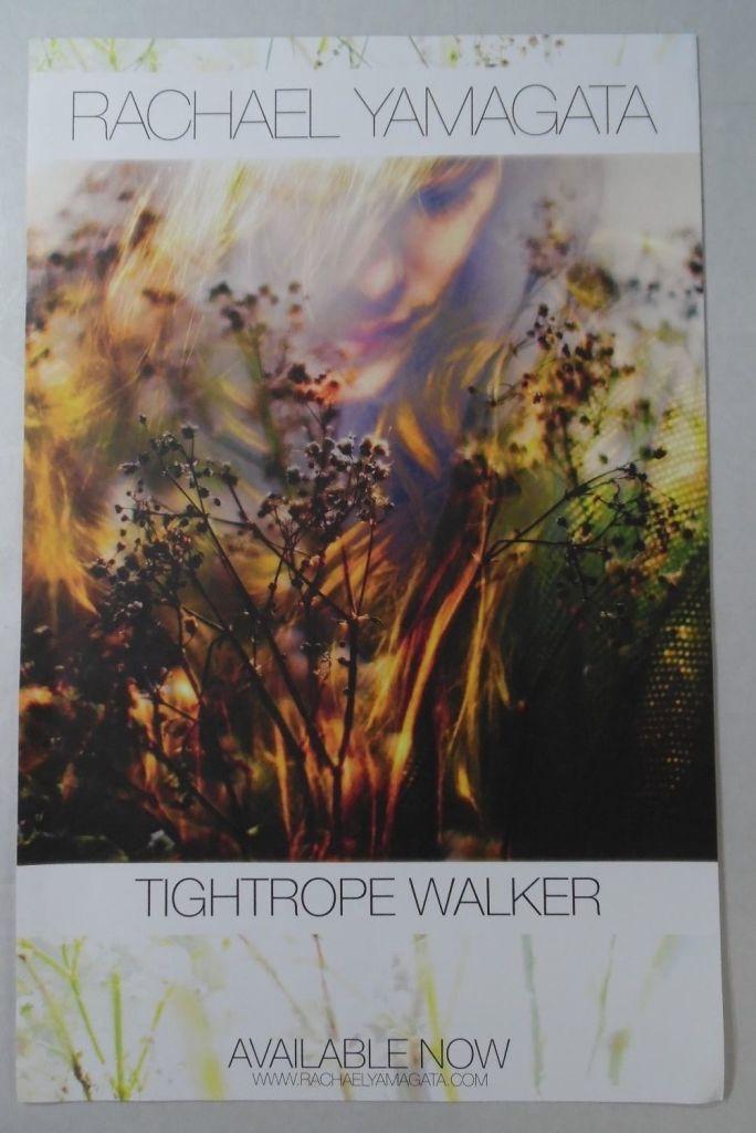 Rachael Yamagata – Tightrope Walker (POSTER, US)