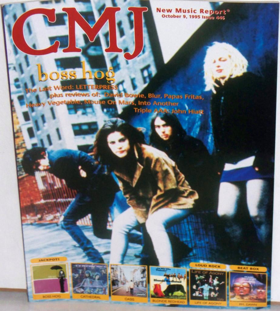 Boss Hog -  CMJ: Cover / Feature (PRESS, US)