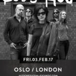 Boss Hog - Oslo, Hackney, London, UK (3 February 2017) - Poster