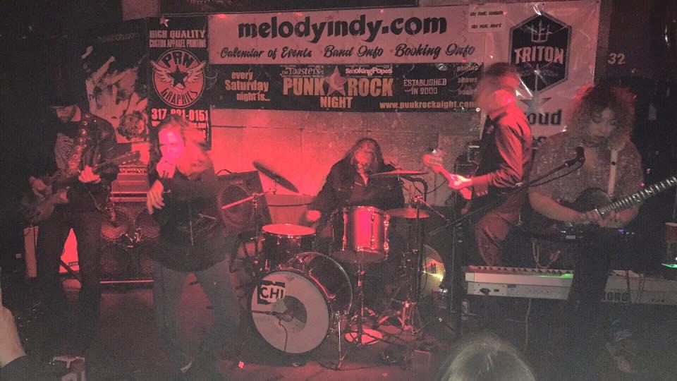 S-E-R-V-I-C-E - Melody Inn, Indianapolis, IN, US (13 January 2017)