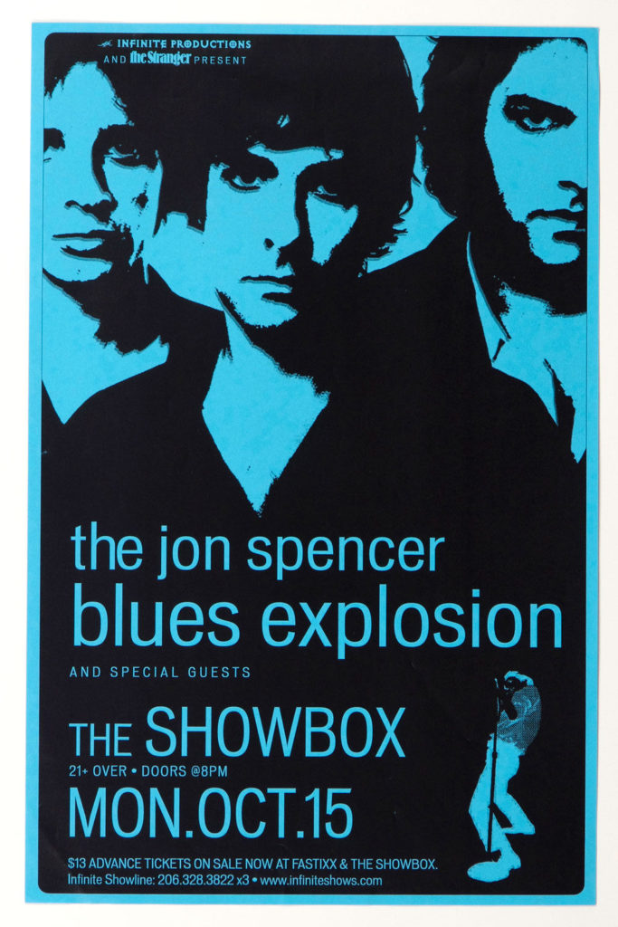 The Jon Spencer Blues Explosion - Showbox, Seattle, WA, US (15 October 2001)
