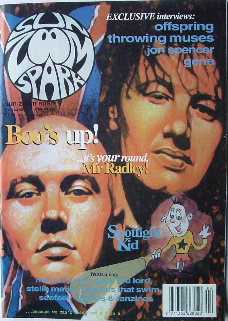 The Jon Spencer Blues Explosion - Sun Zoom Spark: Cool Run-Ins (PRESS, UK) - Cover