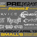 PREserker, Small's, Hamtramck, MI, US (13 April 2017)