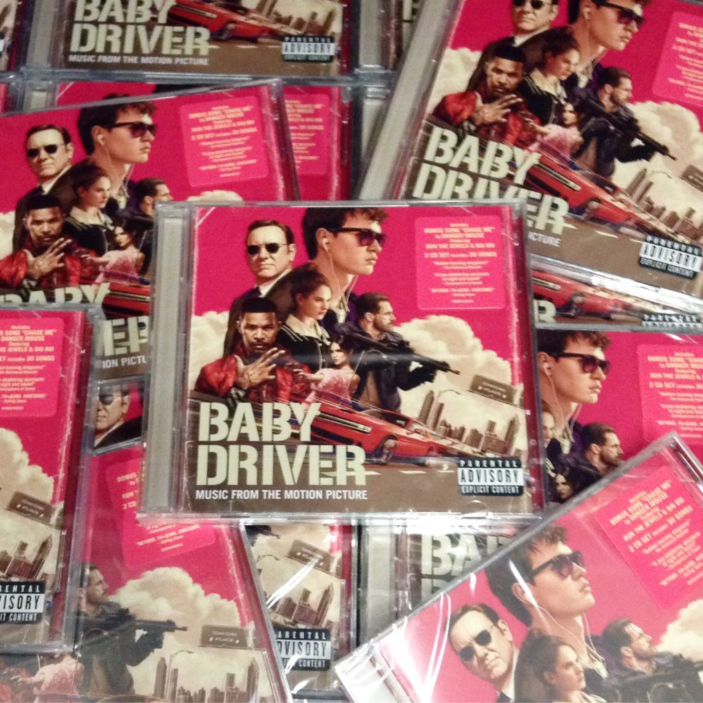 Music From The Motion Picture Baby Driver Released Friday