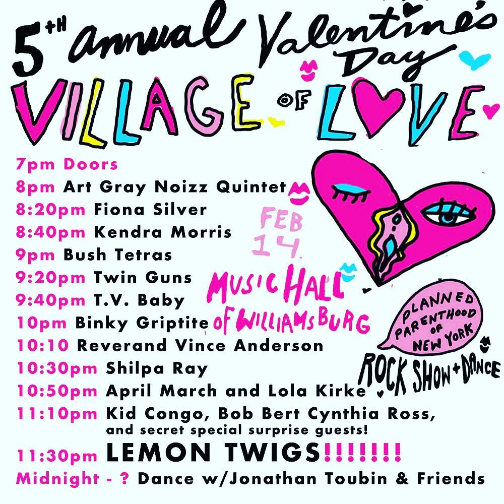 Valentines Day Village Of Love With Surprise Guests Pop