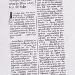Viel Larm Um Nichts (PRESS, GERMANY)