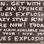 The Jon Spencer Blues Explosion (ADVERT, US) 1992