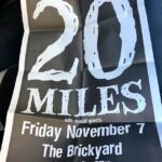 20 Miles - The Brickyard, Vancouver, BC, Canada (7 November 2003)