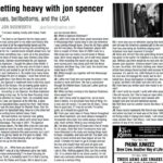 Getting Heavy With Jon Spencer (PRESS, US)