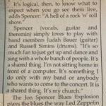 Spotlight: Spencer's Brutal Blues (PRESS, US)